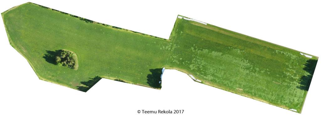 12B Yhteislaidun 14.6.2017 Ortoilmakuva
